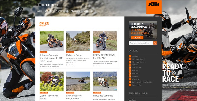 Blog KTM Team France 2016 par VD Consulting